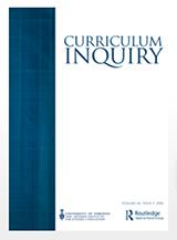 Curriculum Inquiry book cover