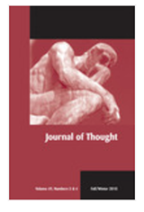 Journal of Thought book cover