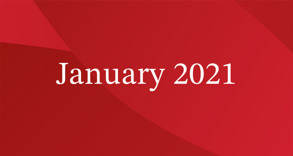 January 2021 President's Blog Image