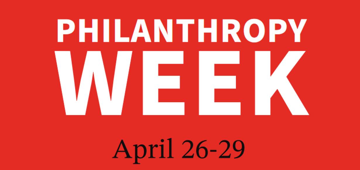 Philanthropy Week logo