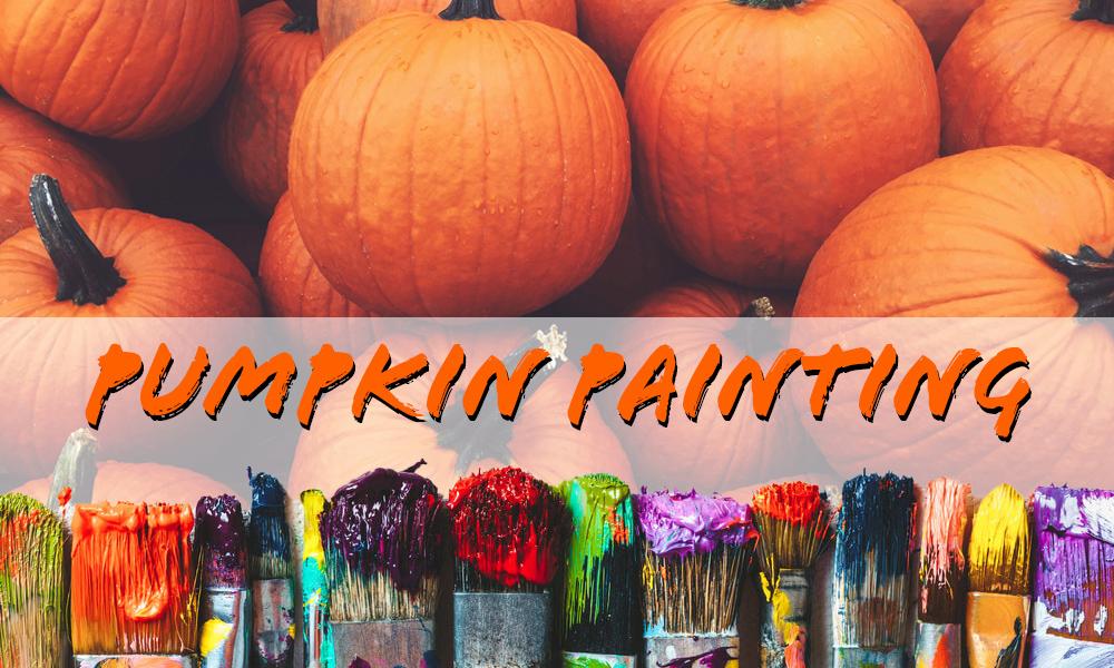 pumpkins and paints